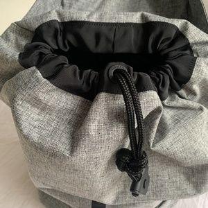 lululemon athletica Bags - NWOT Lululemon Go Lightly Heather Grey Backpack